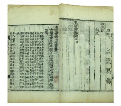 7-5_东医宝鉴二十三卷目录二卷(朝鲜)